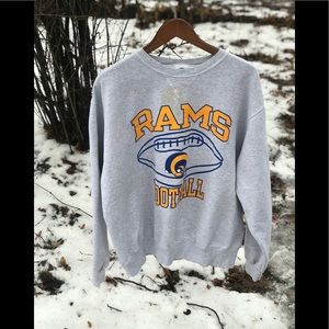 1996 Champion St Louis Rams Crewneck